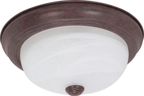 "Nuvo Cornerstone ES 1 Light 13/"" CFL Wall Lantern w// White Glass 60-2204"