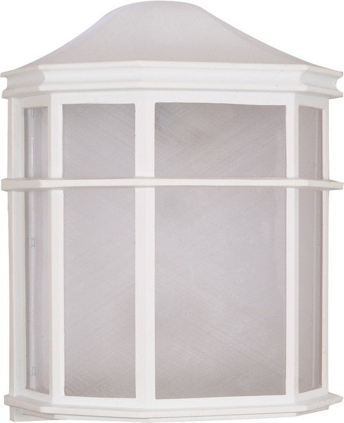 """NUVO Lighting 60/581 1 Light CFL 10"""" Cage Lantern Wall Fixture (1) 13W GU24 (Bulb Included)"""