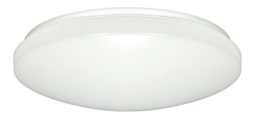 "NUVO Lighting 62/796 1-Light 14"" Flushmounted LED Light Fixture White Finish 277V"