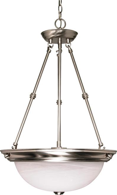 "NUVO Lighting 60/203 3 Light 15"" Pendant Alabaster Glass"