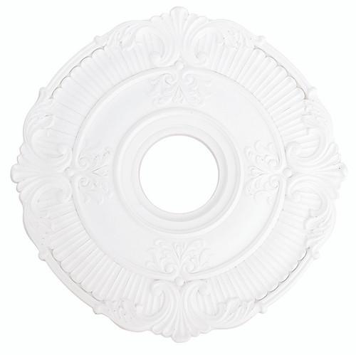 LIVEX Lighting 82030-03 Buckingham Ceiling Medallion in White