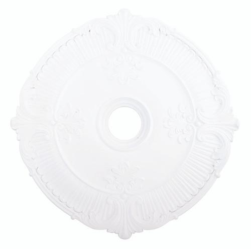 LIVEX Lighting 82034-03 Buckingham Ceiling Medallion in White