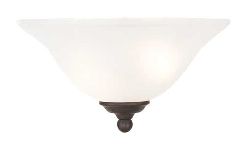 LIVEX Lighting 6120-07 Coronado Wall Sconce in Bronze (1 Light)