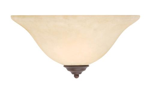 LIVEX Lighting 6120-58 Coronado Wall Sconce in Imperial Bronze (1 Light)