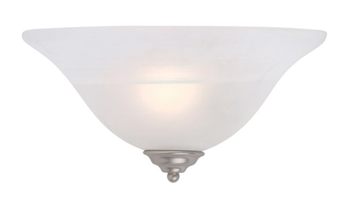 LIVEX Lighting 6120-91 Coronado Wall Sconce in Brushed Nickel (1 Light)