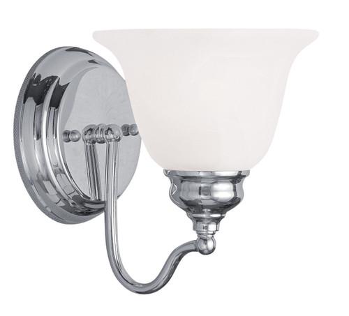LIVEX Lighting 1351-05 Essex Bath Light in Polished Chrome (1 Light)
