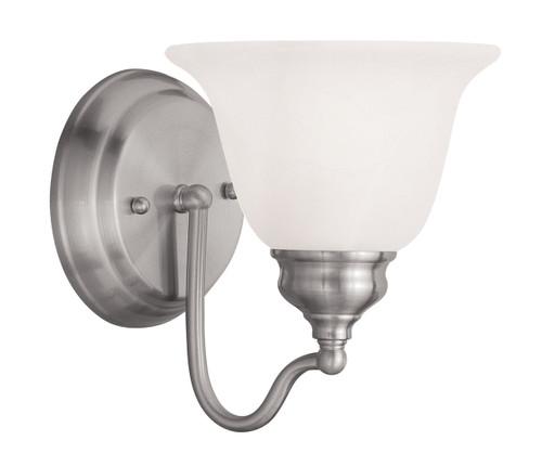 LIVEX Lighting 1351-91 Essex Bath Light in Brushed Nickel (1 Light)