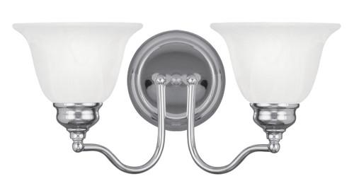 LIVEX Lighting 1352-05 Essex Bath Light in Polished Chrome (2 Light)
