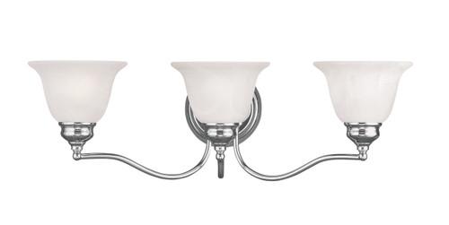 LIVEX Lighting 1353-05 Essex Bath Light in Polished Chrome (3 Light)
