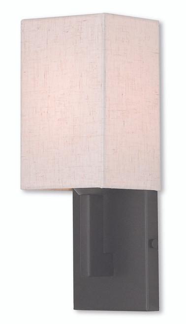 LIVEX Lighting 52131-92 Meridian ADA Wall Sconce in English Bronze (1 Light)