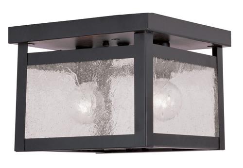 LIVEX Lighting 4051-07 Milford Flushmount in Bronze (2 Light)