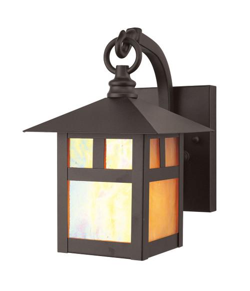 LIVEX Lighting 2130-07 Montclair Mission Outdoor Wall Lantern in Bronze (1 Light)
