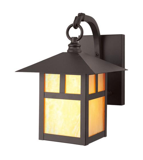 LIVEX Lighting 2131-07 Montclair Mission Outdoor Wall Lantern in Bronze (1 Light)