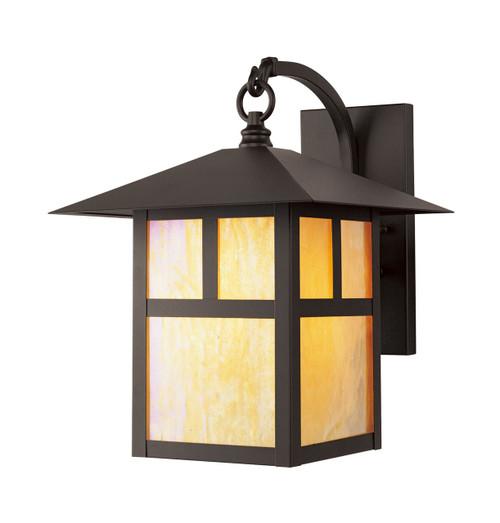 LIVEX Lighting 2133-07 Montclair Mission Outdoor Wall Lantern in Bronze (1 Light)
