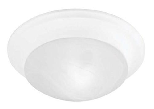 LIVEX Lighting 7304-03 Omega Flushmount in White (3 Light)