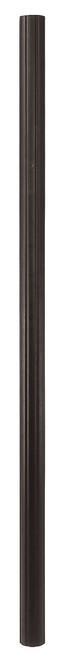 LIVEX Lighting 7708-07 Outdoor Cast Aluminum Fluted Post in Bronze