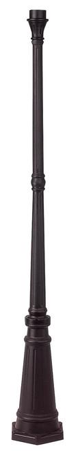 LIVEX Lighting 7709-07 Outdoor Cast Aluminum Post in Bronze