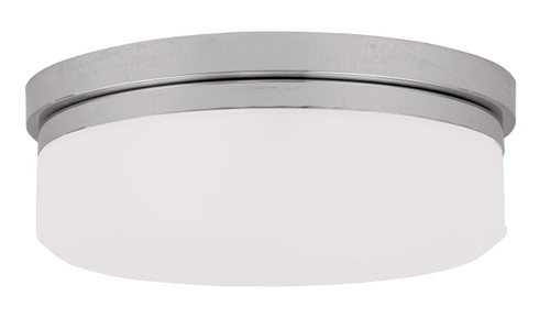 LIVEX Lighting 7392-05 Stratus Contemporary Flushmount/Wall Mount in Polished Chrome (2 Light)