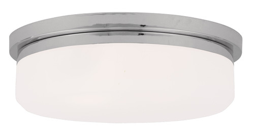 LIVEX Lighting 7393-05 Stratus Contemporary Flushmount/Wall Mount in Polished Chrome (3 Light)