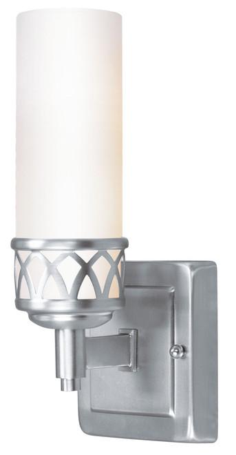 LIVEX Lighting 4721-91 Westfield Bath Light in Brushed Nickel (2 Light)