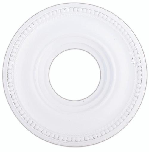 LIVEX Lighting 82072-03 Wingate Ceiling Medallion in White