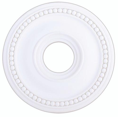 LIVEX Lighting 82073-03 Wingate Ceiling Medallion in White