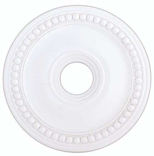 LIVEX Lighting 82074-03 Wingate Ceiling Medallion in White