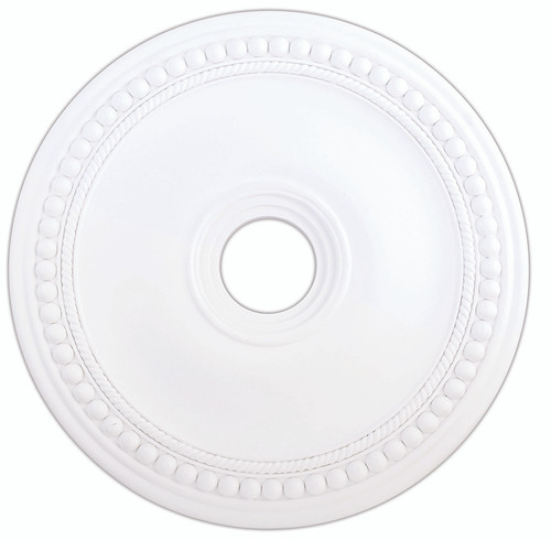 LIVEX Lighting 82075-03 Wingate Ceiling Medallion in White