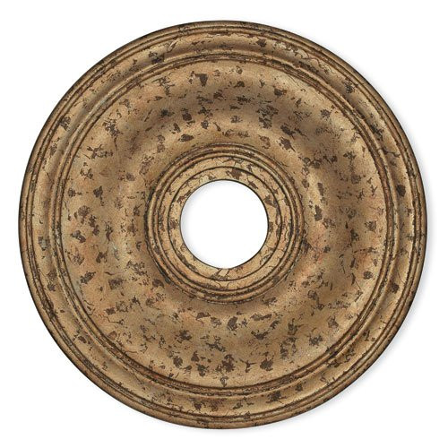 LIVEX Lighting 8219-36 Wingate Ceiling Medallion with Hand-Applied European Bronze