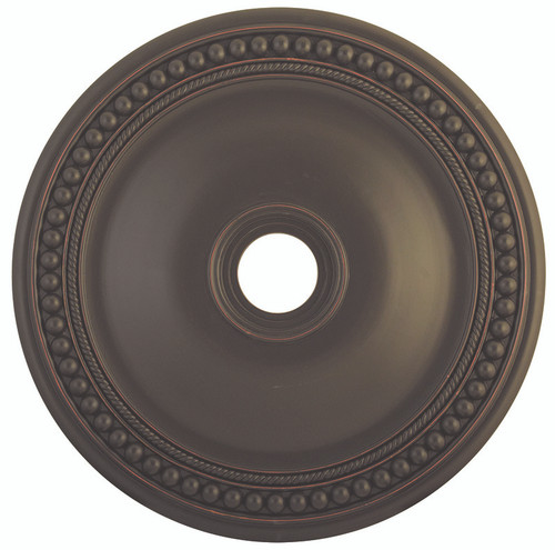 LIVEX Lighting 82076-67 Wingate Ceiling Medallion in Olde Bronze