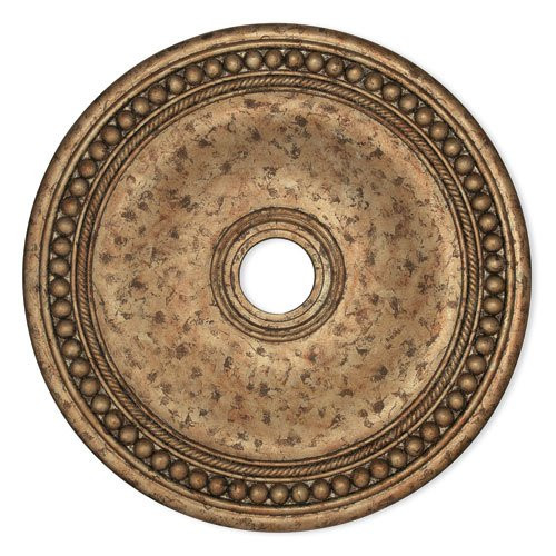 LIVEX Lighting 82076-36 Wingate Ceiling Medallion with Hand-Applied European Bronze