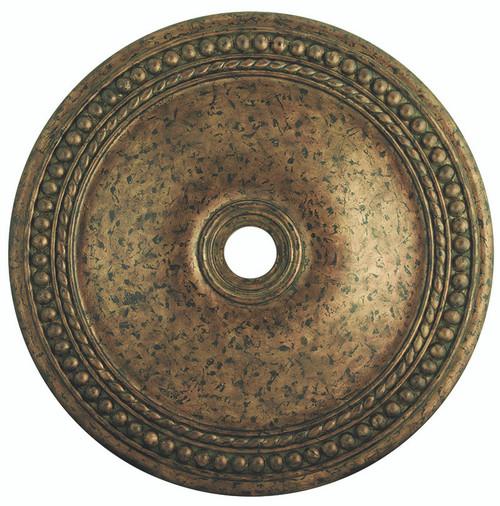 LIVEX Lighting 82078-71 Wingate Ceiling Medallion with Hand-Applied Venetian Golden Bronze