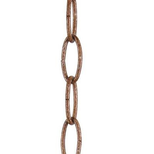 LIVEX Lighting 5608-64 Heavy Duty Decorative Chain in Palacial Bronze