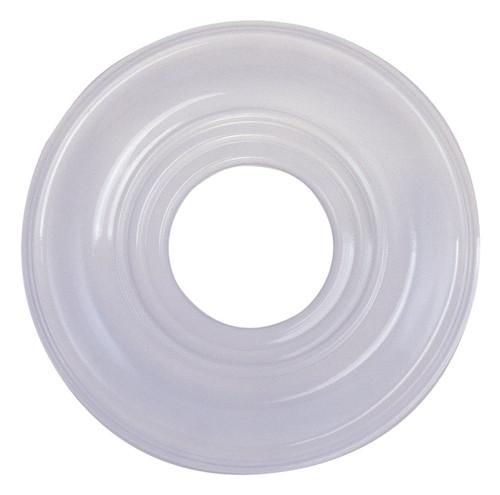 LIVEX Lighting 8209-03 Ceiling Medallion in White
