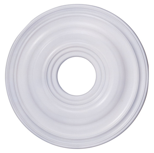 LIVEX Lighting 8217-03 Ceiling Medallion in White