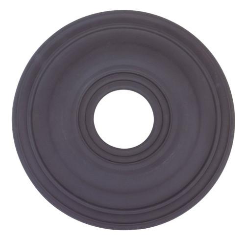 LIVEX Lighting 8217-04 Ceiling Medallion in Black