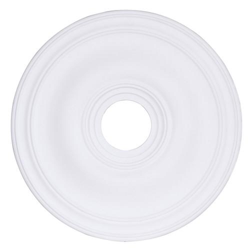 LIVEX Lighting 8219-03 Ceiling Medallion in White