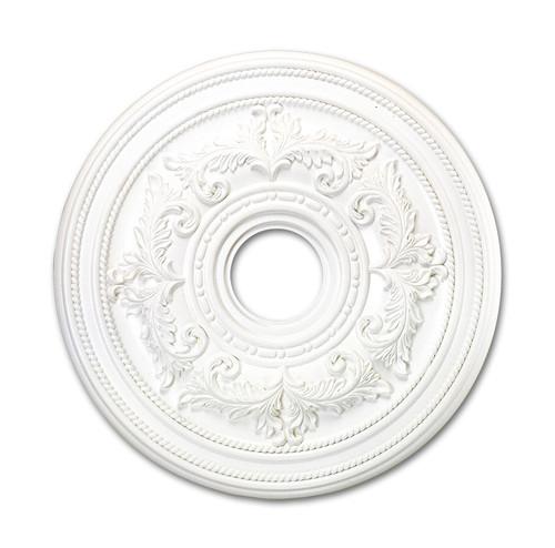 LIVEX Lighting 8200-03 Ceiling Medallion in White
