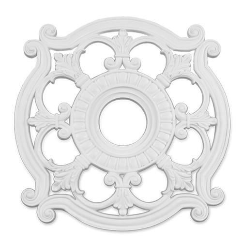LIVEX Lighting 8216-03 Ceiling Medallion in White