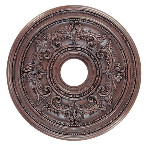 LIVEX Lighting 8200-58 Ceiling Medallion in Imperial Bronze