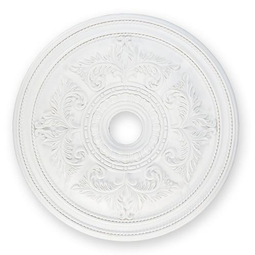 LIVEX Lighting 8210-03 Ceiling Medallion in White
