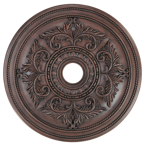 LIVEX Lighting 8210-58 Ceiling Medallion in Imperial Bronze