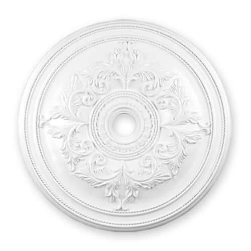 LIVEX Lighting 8211-03 Ceiling Medallion in White