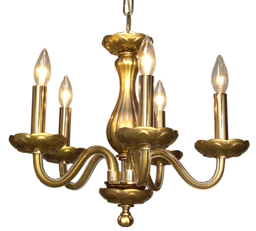 Classic Lighting 82045 GLD BK Monaco Crystal Chandelier in Gold (Imported from Spain)