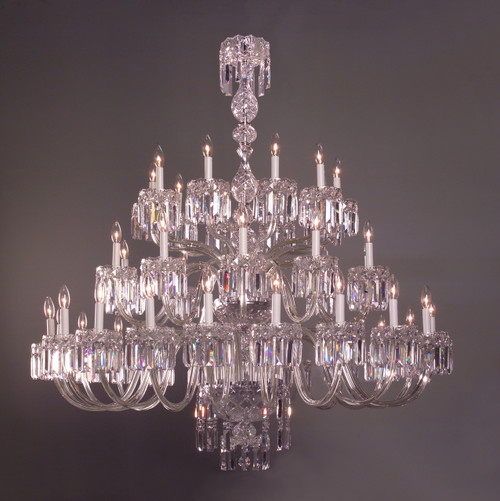 Classic Lighting 82039 CH S Buckingham Crystal Chandelier in Chrome (Imported from Spain)