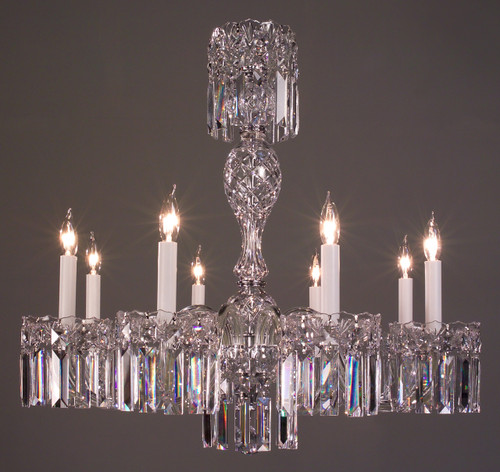 Classic Lighting 82038 CH SC Buckingham Crystal Chandelier in Chrome (Imported from Spain)