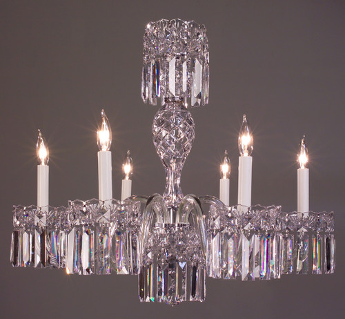 Classic Lighting 82036 CH SC Buckingham Crystal Chandelier in Chrome (Imported from Spain)