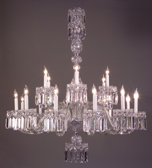 Classic Lighting 82033 CH CBK Buckingham Crystal Chandelier in Chrome (Imported from Spain)