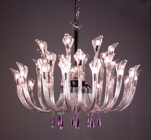 Classic Lighting 82025 CH AT Inspiration Crystal Chandelier in Chrome (Imported from Spain)