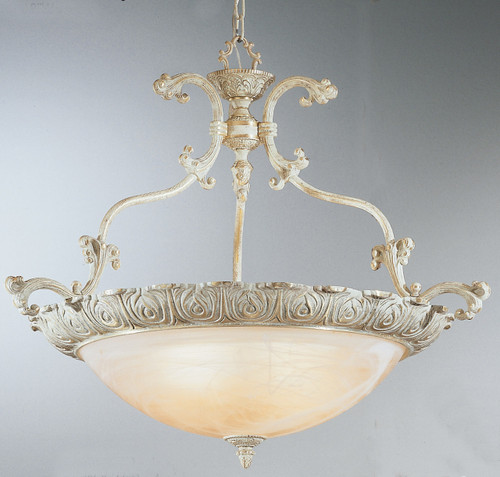 Classic Lighting 68523 SG Montego Bay Cast Brass/Glass Pendant in Sorrento Gold